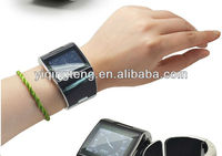 Novelest design with MP3/MP4 Lady Super thin wrist cell phone watch