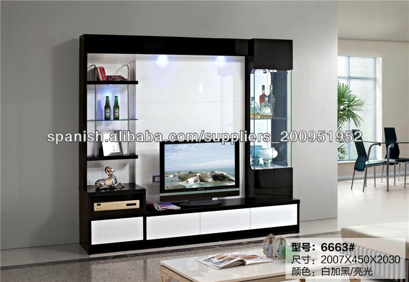 LED sala de televisión Estructura de la unidad La vida moderna