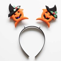 Cheap Factory Wholesale Latest halloween hair accessories,hair band with led