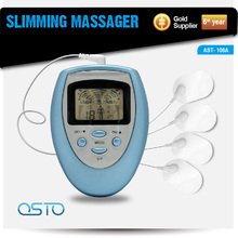 Mini slimming handheld tens therapy massager