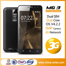 Unique Design OMES Mobile MG3 Dual Core 5 inch 3G Phone Unlocked
