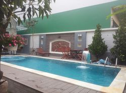 Hot sale Swimming Spa Pool Swim Pools for water sports with Waterfall