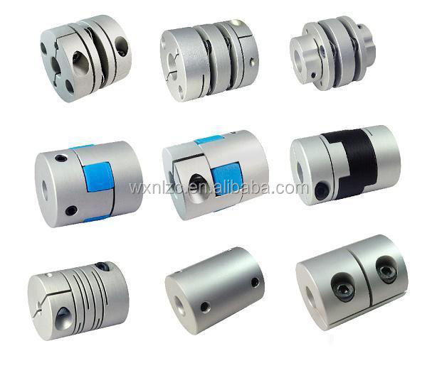 WRM D19L25 5mm to 5mm CNC Stepper Motor Shaft Coupling Coupler for Belt conveyor flexible couplings
