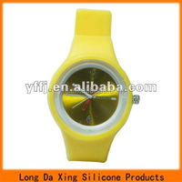 fashiona round silicone jelly watches for sale
