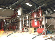 Supplying crude oil ,used oil refining equipment