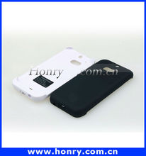 Wholesale mobile phone accessories for htc m8 3200mah battery back case
