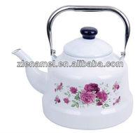 stainess steel handle Enamel Kettle/Enamel Tea pot