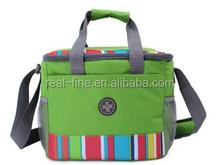 New 2015 high quality family Outdoor insulated cooler bag picnic shoulder bag Oxford cloth handbag picnic fresh-keeping bag