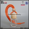 5ml empty hanging car perfume bottle with wooden cap