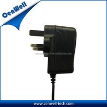 UK plug ac adapter 5v 2a model USB output or DC output