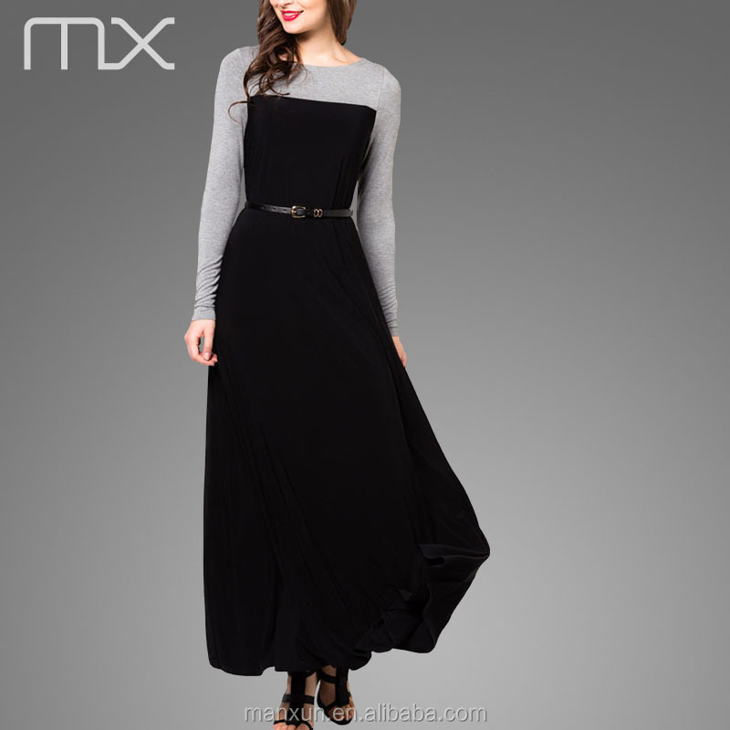 Abaya Dress Muslim Woman Robe Dubai Wholesale Evening Dresses Simple ...