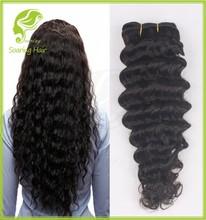 Deep Wave Virgin Hair Brazilian Hair Free Weave Hair Packs