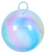 "15"" toy balls /bouncy-balls-with-handles/ jumping ball"