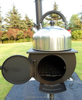 cabin wood camping stove