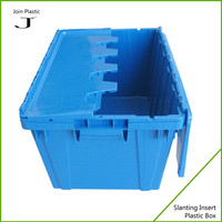 Heavy Duty Agriculture Nestable Stackable Fruit Plastic Crates