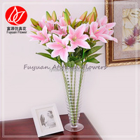 150430 Good quality Crazy Selling artificial asiatic lily buy direct from factory