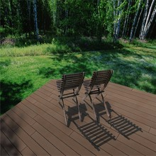 China top 10 sales! 100% Waterproof Outdoor Strand Woven Bamboo Decking Recycled Bamboo Flooring made in China