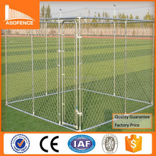 Heavy duty 10x10x6 galvanized roll chain link dog cage