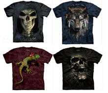 Wholesale devil 3d printing t-shirt, custom new model 3d t shirt from china