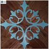 Multilayer European Stainless steel wood parquet flooring&stone wood parquet floor Jade &wood parquet floor