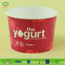 12 oz High quality yogurt cups with dome lid