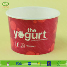 High quality yogurt cups with dome lid 12oz