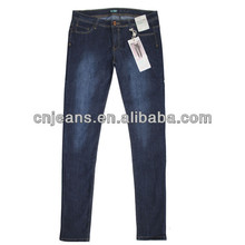 hot sell tight girls used jean woman jeans 2012