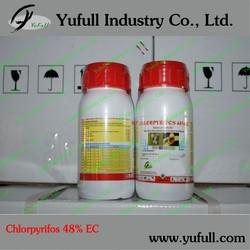 Chlorpyrifos 480g/L EC 40% EC Insecticide manufacture