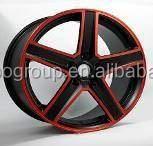 Car Alloy Wheel Rims With 5 Spokes Model F41052