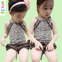Hot Young Kids Girls In Bathing Suits Outfit Clothing Sets From Factory Suits For Girls