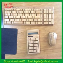 China Factory Supply Promotional Folded Mini 2.4G Optical Mouse, Computer Mouse, Wireless bamboo keyborad and mouse