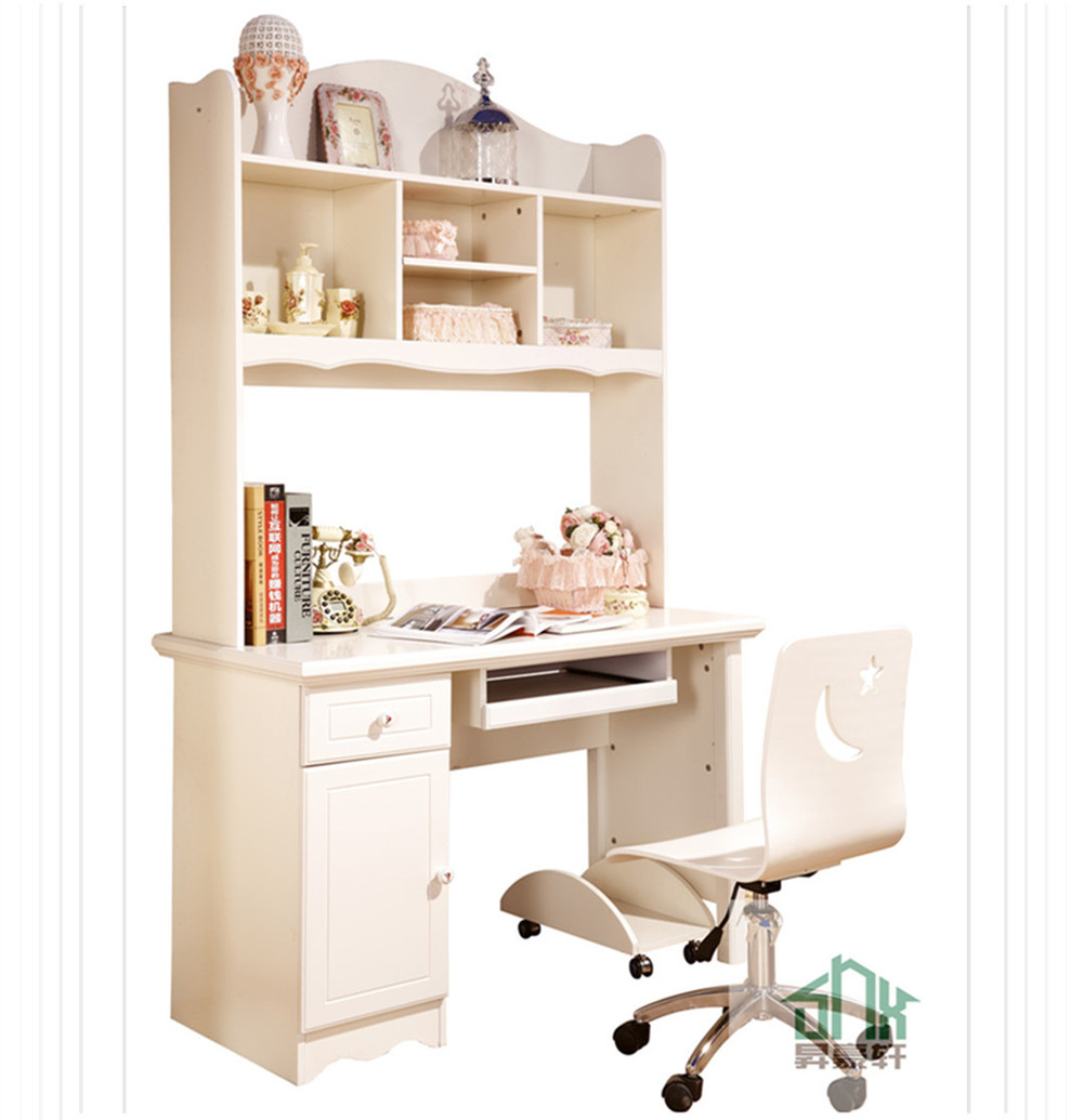 Korea Design Child Study Table And Chair Bookcase with Desk HAA#  1000 x 1035