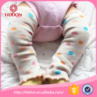 Wholesale lovely cotton terry loop knitted thanksgiving baby leg warmers