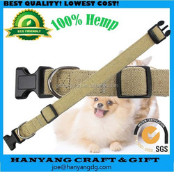 2015 Hemp Eco-Friendly Dog Collar