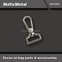 MaYa Metal nickle free zinc alloy hook trigger/dog snap swivel spring bag hook with handbag metal hook for bag