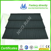 Classic Style stone coated metal roof tiles for safety roofing system