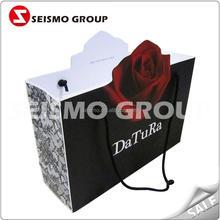 paper decoration bag paper reusable shopping bags