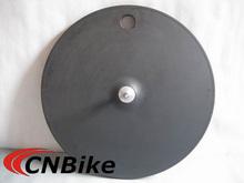 700C Fixed gear full carbon disc rear wheel 3k finish tubular