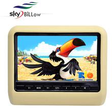 9 inch seatback dvd monitor, car headrest dvd player portabel dvd players for car