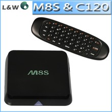 air mouse i8 c120 android tv box m8s arabic iptv new hot in LW, s812 quad core smart tv box in 2g/8g kodi 14.2 M8S tv box