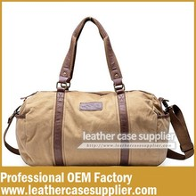 professional manufacturer waterproof travel canvas duffle bag