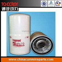 fleetguard oil filter lf670