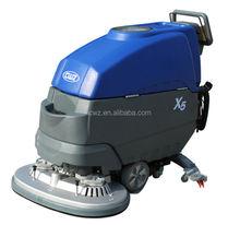 easy using battery powered manual floor sweeper