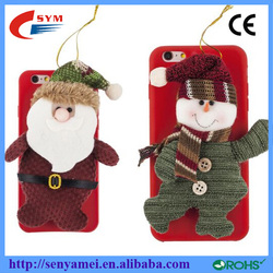 Christmas Soft Back Cover Rubber Silicon Case For iPhone 6S 6 6 Plus