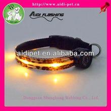 LED dog collars flashing pet products