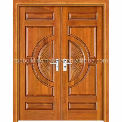 전면 이중 문 흰색 단단한 나무 문 디자인-문 -상품 ID:60608064638 ...