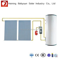 With Flat Plate Solar Collector Split Low Pressurized Solar Water Heater
