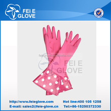 many colors/latex glove with sleeve
