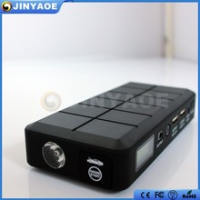Hot Emergency tool kit car jump starter heavy duty power bank 14000mAh jump start cars charge phones and fits in your pocket