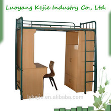 China factory price Metal bunk Bed cheap bunk beds in high quality metal cheap bunk bed for bedroom furniture Steel bunk bed